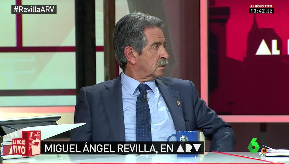 El presidente Miguel Ángel Revilla, en Al Rojo Vivo