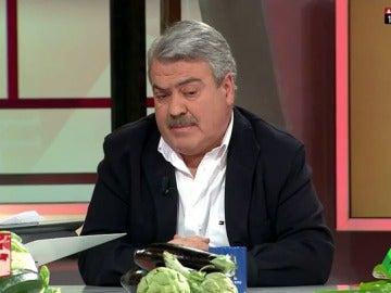"""Frame 14.358606 de: Luis Pacheco, sobre la subida del precio de las hortalizas: """"En España está suponiendo una entrada de divisas imponente"""""""