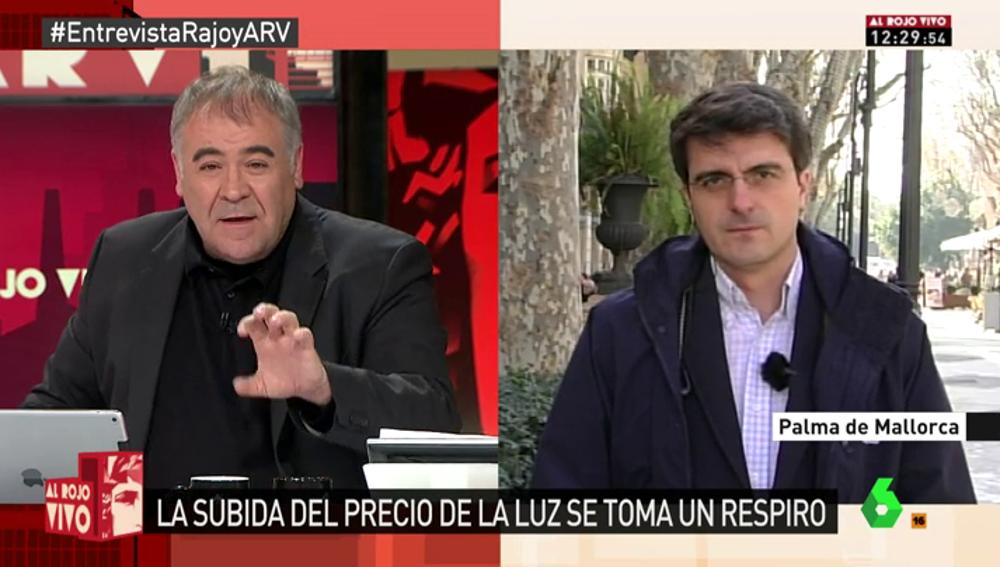 """Frame 76.926513 de: Morales de Labra: """"Es una vergüenza que un Gobierno se encomiende a la lluvia y al viento para ver qué pasa con la luz"""""""