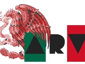 Logo de 'Al Rojo Vivo' con un guiño a México