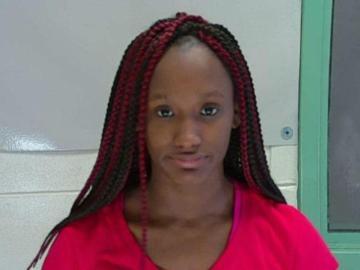 Sky Juliette Samuel, la joven de 18 años detenida en Columbus, Misisipi