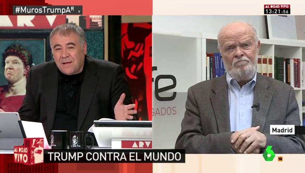 """Frame 1.774239 de: José Antonio Martín Pallín: """"Estados Unidos ha firmado la convención contra la tortura"""""""