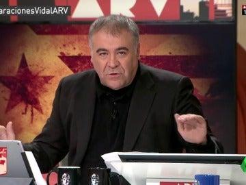 """Frame 29.901972 de: Ferreras responde a las acusaciones de manipulación de Pedro Sánchez: """"Es él quien no anda sobrado de credibilidad"""""""