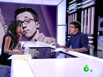 El número dos de Podemos, Íñigo Errejón, en El Objetivo