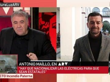 """Frame 262.413061 de: Antonio Maíllo: """"La luz no puede ser acciones de Bolsa, tiene que ser un derecho humano"""""""