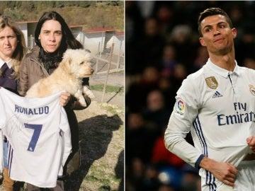 Gesto de Cristiano Ronaldo con una perrera en Portugal