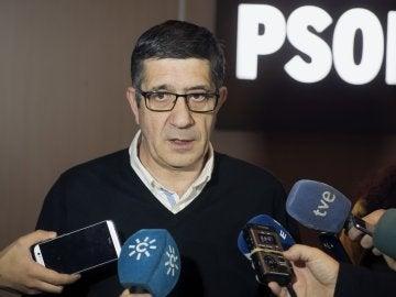 El exlehendakari y candidato a la secretaría general del PSOE, Patxi López