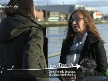 """Frame 16.259646 de: Eva Baena, sobre los tipos impositivos de Irlanda: """"No es ilegal intentar pagar menos impuestos dentro de la legalidad, pero es discutible"""""""