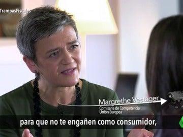 """Frame 20.733043 de: Margrethe Vestager, comisaria de Competencia de la UE: """"Los estados miembros no pueden hacer favores a determinadas empresas"""""""