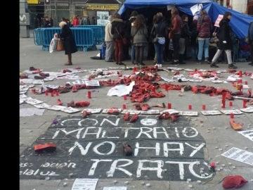 Huelga de hambre en la Puerta del Sol