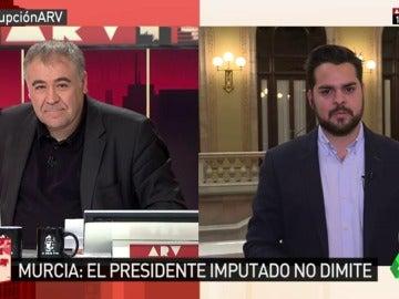 "Frame 1.123613 de: Fernando de Páramo: ""Vamos a presionar a Pedro Antonio Sánchez para que se vaya"""