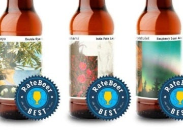 Cervezas premiadas de la marca