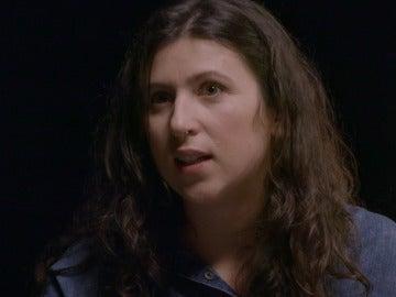 Noelia Moreno, votante de Podemos