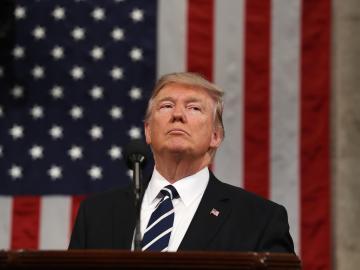 El presidente de los Estados Unidos, Donald J. Trump