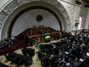 Parlamento Venezonalo en la declaración de la emergencia alimentaria