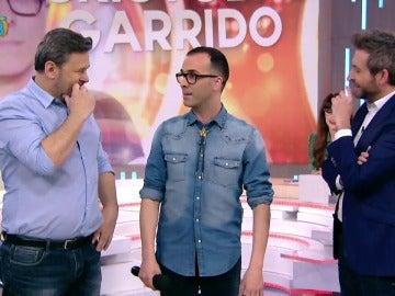 El concursante de Tu cara no me suena todavía, Cristóbal Garrido, visita Zapeando