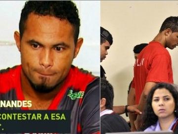 Bruno Fernandes, en rueda de prensa y en mitad de un juicio