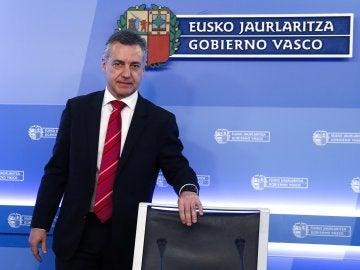 El lehendakari Íñigo Urkullu