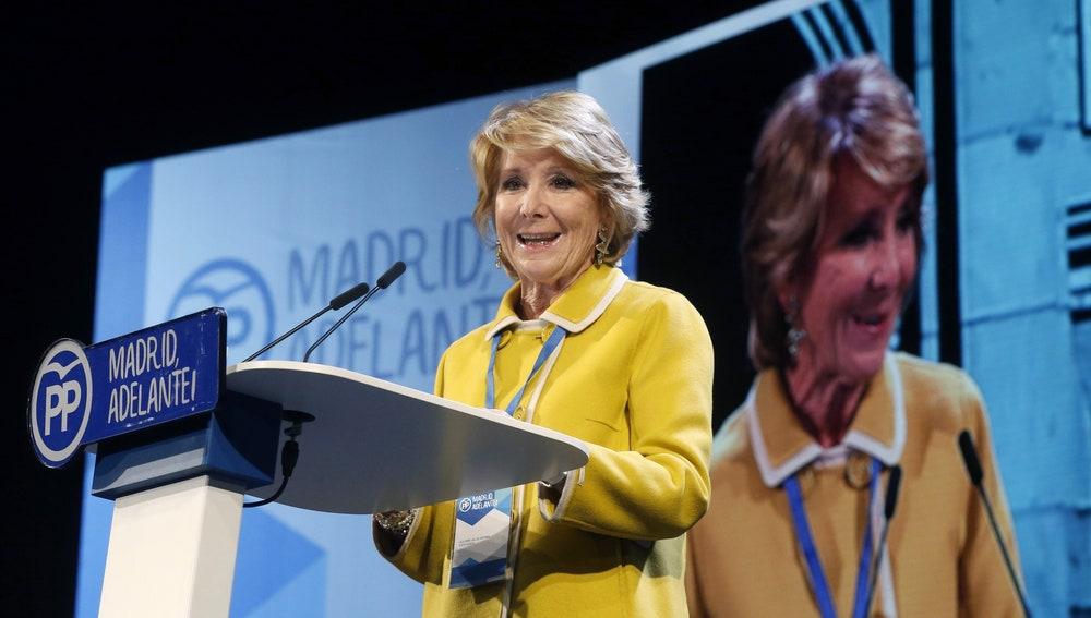 Esperanza Aguirre, expresidenta regional y del PP de Madrid