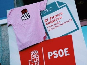 Las camisetas del PSOE