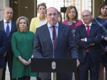 Pedro Antonio Sánchez dimite como presidente de Murcia