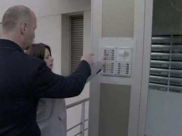 La casa de Vanesa está marcada con una 'x'