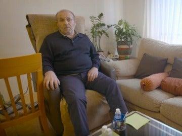 José Antonio Arrabal, enfermo de ELA, en el vídeo donde ha decidido quitarse la vida