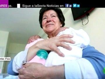 Retiran la tutela de sus mellizos a la burgalesa que dio a luz a los 64 años