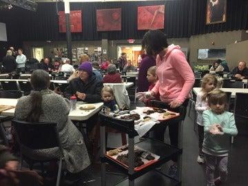 Imagen de un comedor social en Wilmington, Ohio
