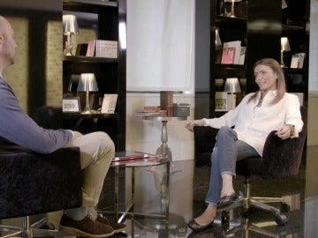 La psicóloga Ana Isabel G. Salegui y Pedro García Aguado