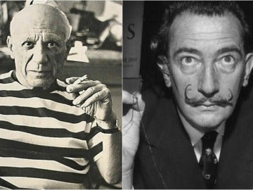 Picasso y Dalí
