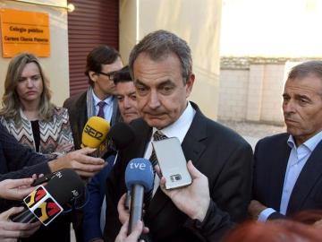 José Luis Rodríguez Zapatero, en un acto en Cataluña