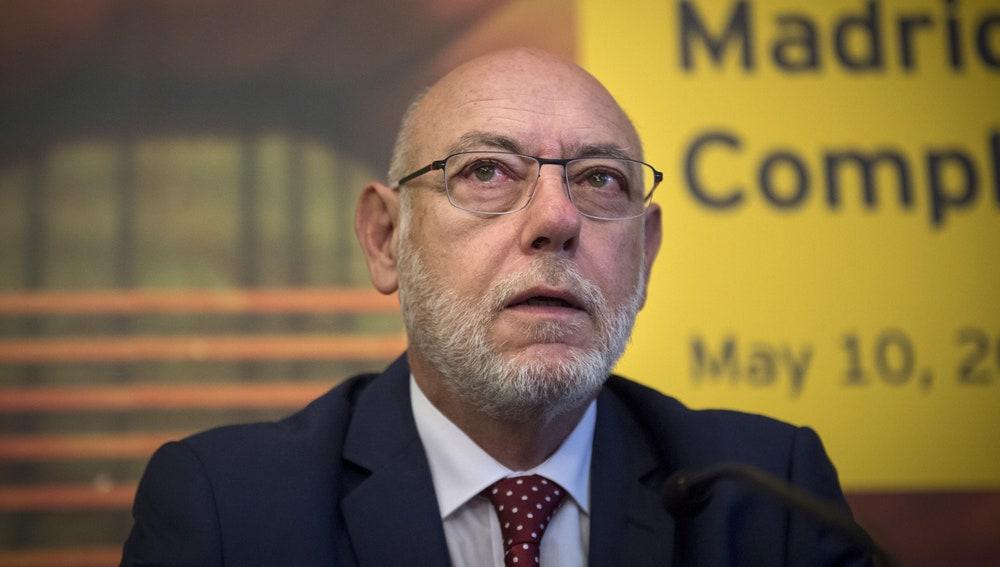 José Manuel Maza, fiscal general del Estado, comparece ante el Congreso