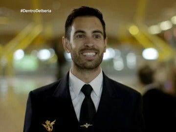 Adán Pérez, piloto de Iberia