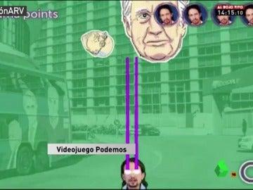 Una de las pantallas del videojuego 'Trama Wars'