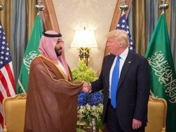 Trump en Arabia Saudí
