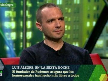 Luis Alegre, fundador de Podemos