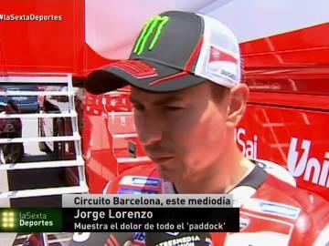Jorge Lorenzo recuerda a Nicky Hayden