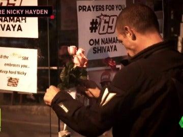 Frame 26.904976 de: El mundo del motor llora la muerte de Nicky Hayden
