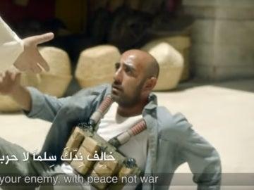Fotograma del anuncio de Zain Telekom