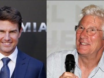 Tom Cruise y Richard Gere