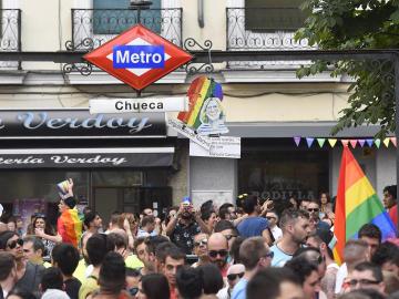Estación de Metro en Chueca