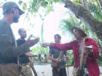 Antonio y Rafa en La Isla