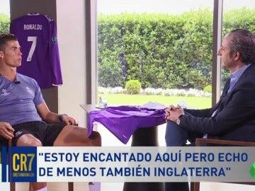 """Frame 73.136081 de: Cristiano Ronaldo, sobre los pitos del Bernabéu: """"Tengo mucha paciencia; en Mánchester no me pasó nunca"""""""