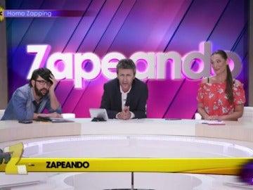 Zapeando, parodiado en Homo Zapping