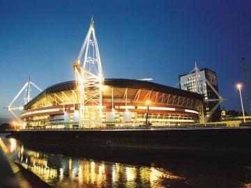 El Millennium Stadium, desde fuera