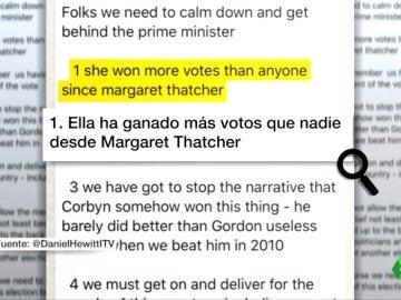 Frame 3.204279 de: Filtran los mensajes que Boris Johnson envió a los diputados conservadores