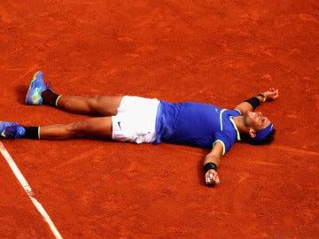 Rafa Nadal, tras ganar su décimo Roland Garros