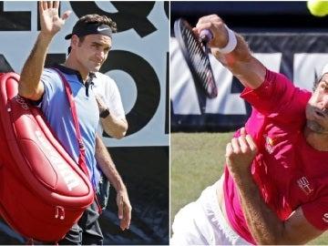 Federer cae ante Haas en Stuttgart
