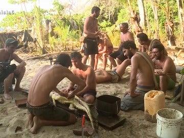 Iker y Legi discuten en La Isla